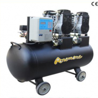 3000w环保静音无油多功能空气压缩机150升储气罐